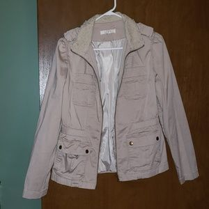 Lace collared jacket